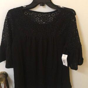 Black Mid Sleeve